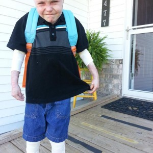 Charlie's First Day of School 2013-2014