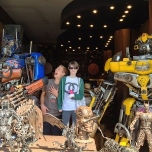 Derra with Transformers