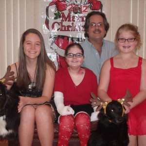 Fallyn and her family.