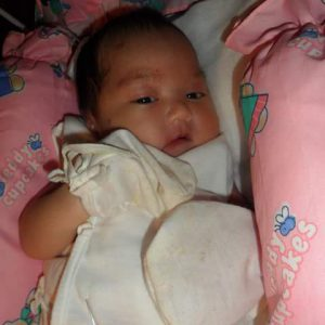 Precious Shamila Jayne With Her Hands Wrapped Up