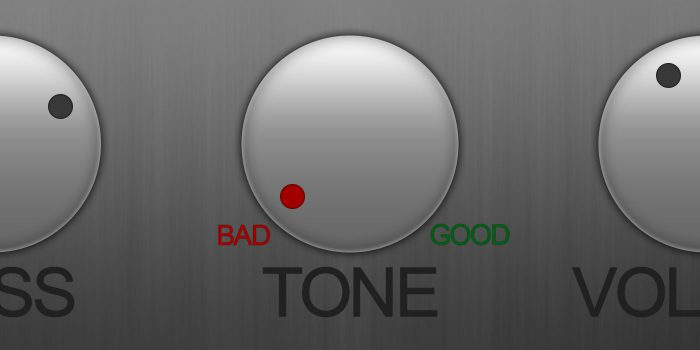 There Is No Such Thing As Bad Guitar Tone