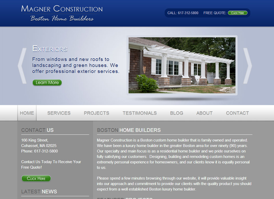 Boston Home Builders